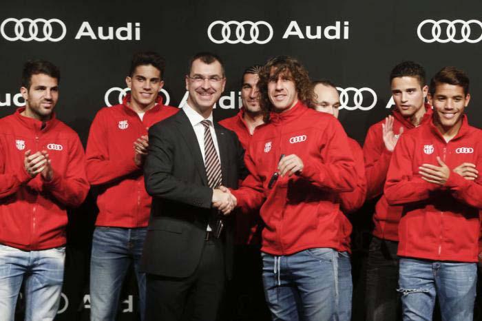 ФК «Барселона», Audi