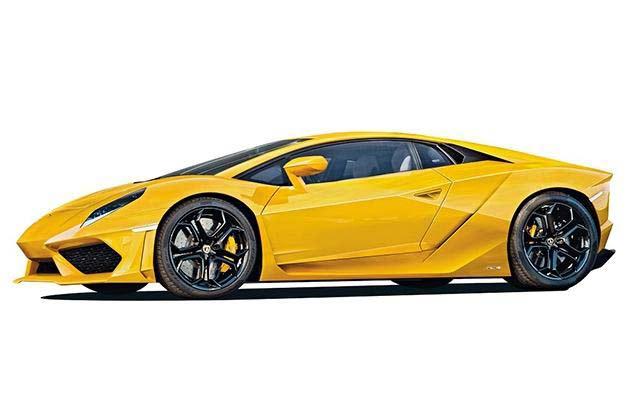 Преемник Lamborghini Gallardo (предварительное изображение)