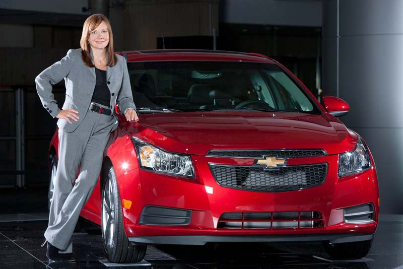 Мэри Барра, главный исполнительный директор General Motors