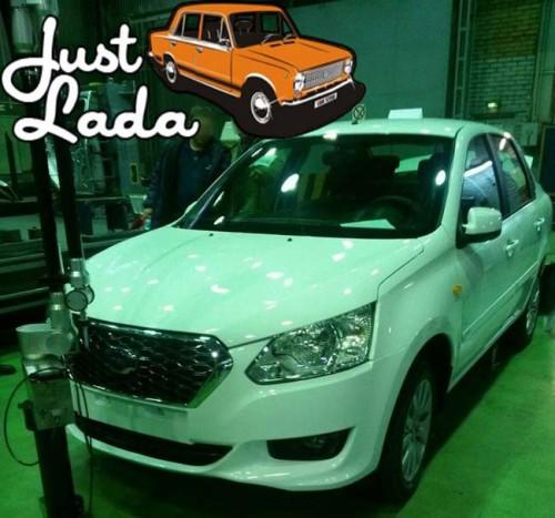 Первое фото Datsun в цеху АВТОВАЗа