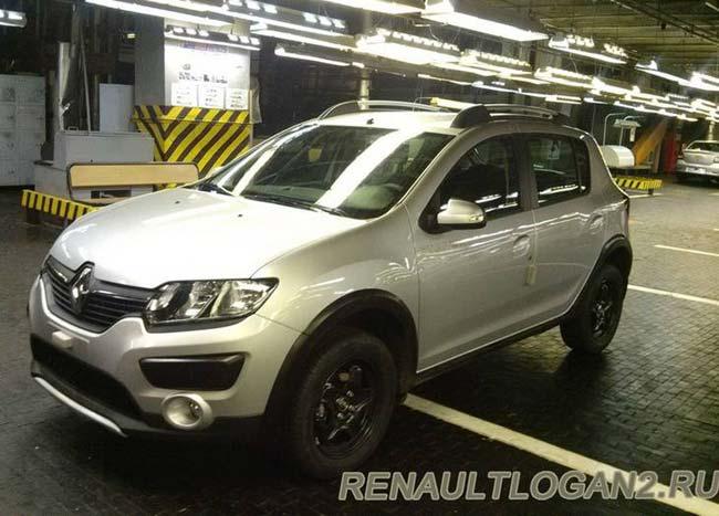 Автомобили Renault в цехах АВТОВАЗа