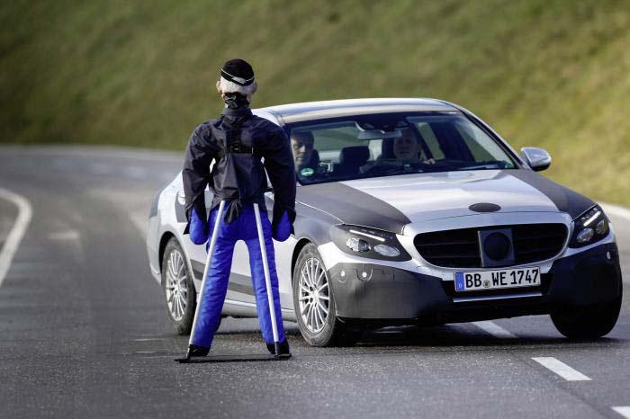 Mercedes-Benz, дорожные испытания