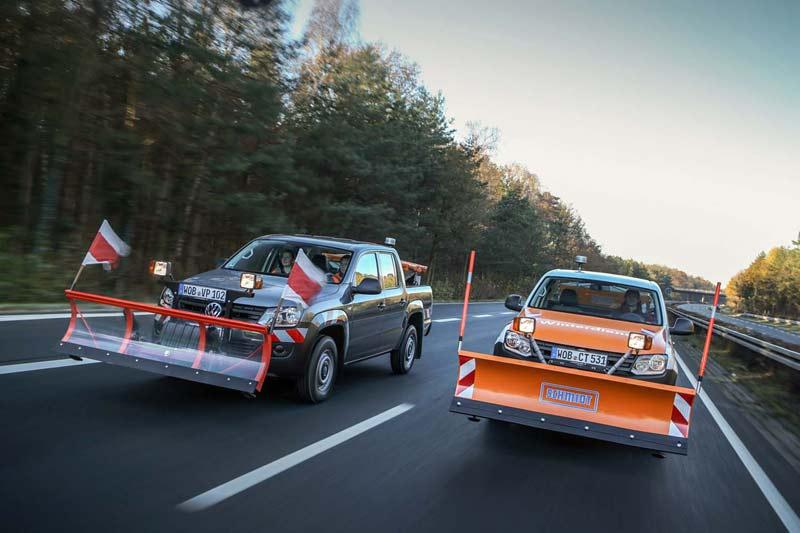 Volkswagen Amarok. Снегоуборщик