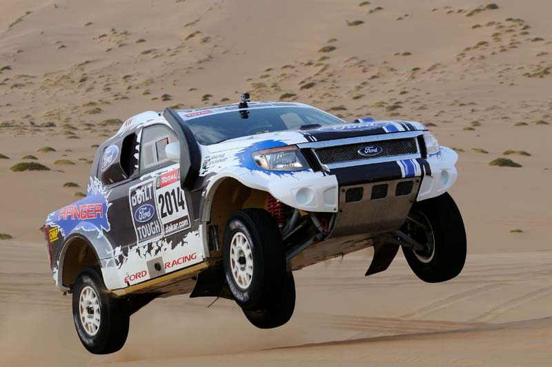 Ford Ranger, команда Ford Racing, «Дакар-2014»