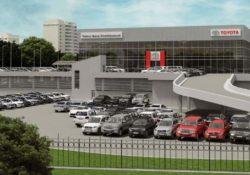 Тойота Центр Левобережный, дилер Toyota, Москва