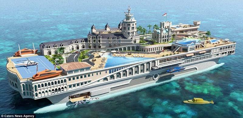 Проект яхты «Улицы Монако» (The Streets of Monaco)
