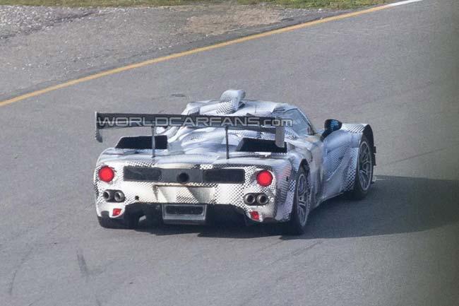 Спортпрототип Ferrari LMP1 (шпионские фото)