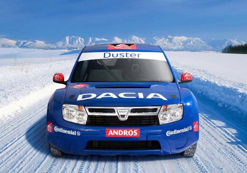 Спортивный Dacia Duster