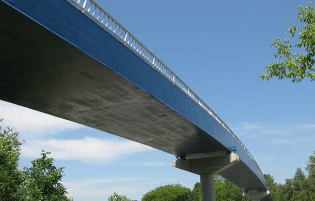 Мост из композитных материалов