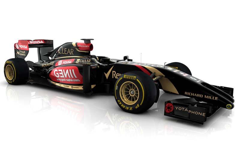 «Формула-1». Болид Lotus F1 2014 года