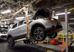 Завод Nissan, Nissan Qashqai, Сандерленд, Великобритания