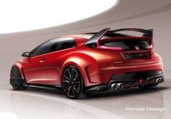 Honda Civic Type R (предварительное изображение)