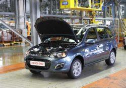 28-миллионный автомобиль Lada (Lada Kalina универсал)