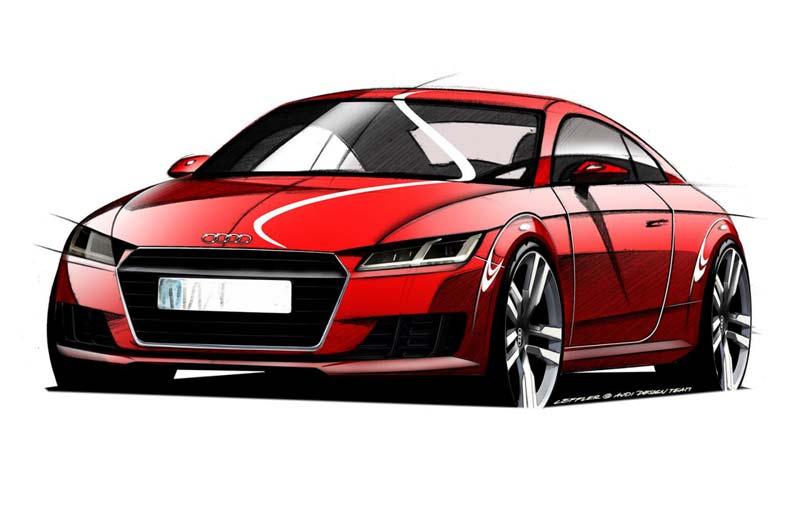 2014 Audi TT (эскиз)