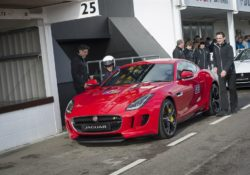 2015 Jaguar F-Type Coupe на Goodwood Motor Circuit в Гудвуде