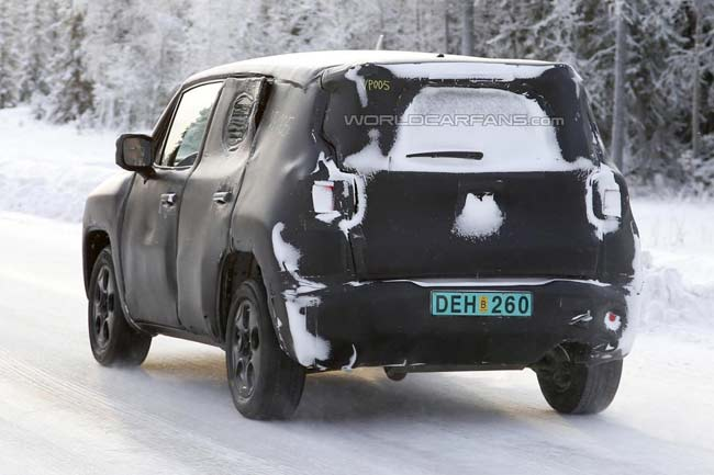 Jeep Laredo (шпионское фото)