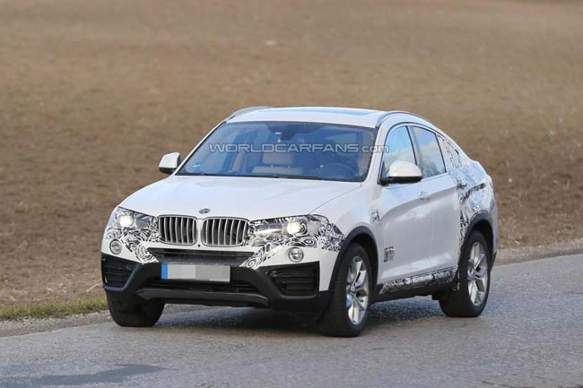 2015 BMW X4 (шпионское фото)