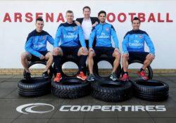 Cooper Tire Europe подписала соглашения с футбольным клубом «Арсенал»
