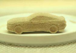 Шоколадный Ford Mustang (3D-печать)