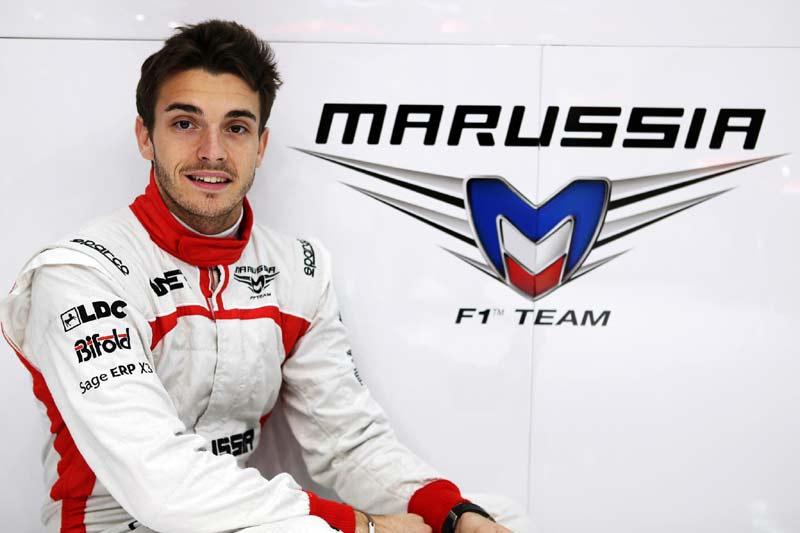 Жюль Бьянки, Marussia F1 Team