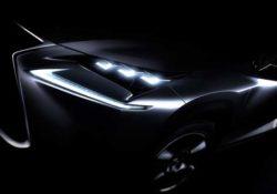 2015 Lexus NX (тизер)