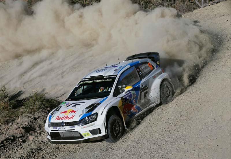 WRC 2014. Себастьян Ожье. VW Polo R WRC