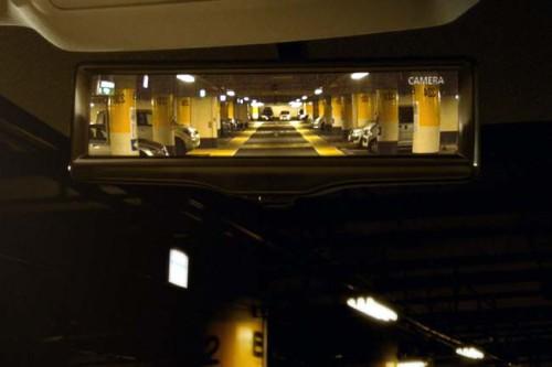 «Умное» зеркало заднего вида, технология Smart Rearview Mirror, Nissan