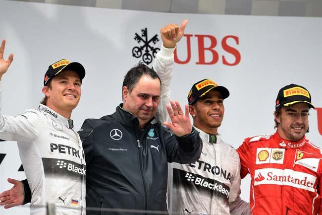 «Формула-1». Гран-при Китая, 2014
