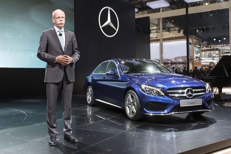 2015 Mercedes-Benz C-class L (длиннобазовый)