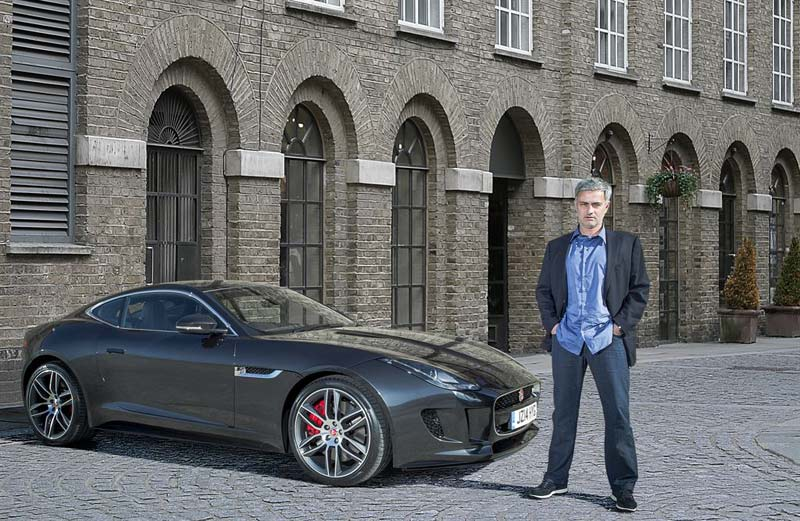 Жозе Моуринью (José Mourinho), Jaguar F-TYPE R Coupe