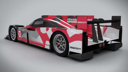 Honda ARX-04b LMP2 Coupe