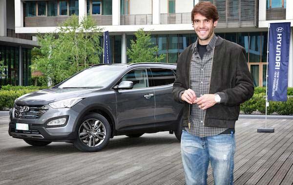 Рикардо Кака, Hyundai Santa Fe