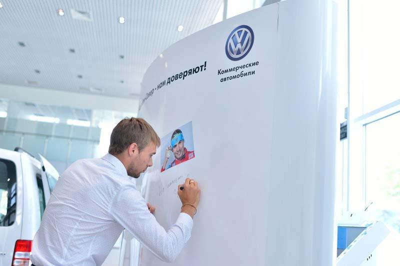 Антон Шипулин, Volkswagen Коммерческие автомобили