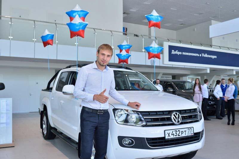 Антон Шипулин, Volkswagen Amarok