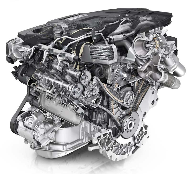 Двигатель Audi 3.0 TDI V6