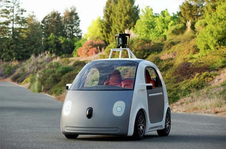 Самоуправляемый прототип автомобиля Google