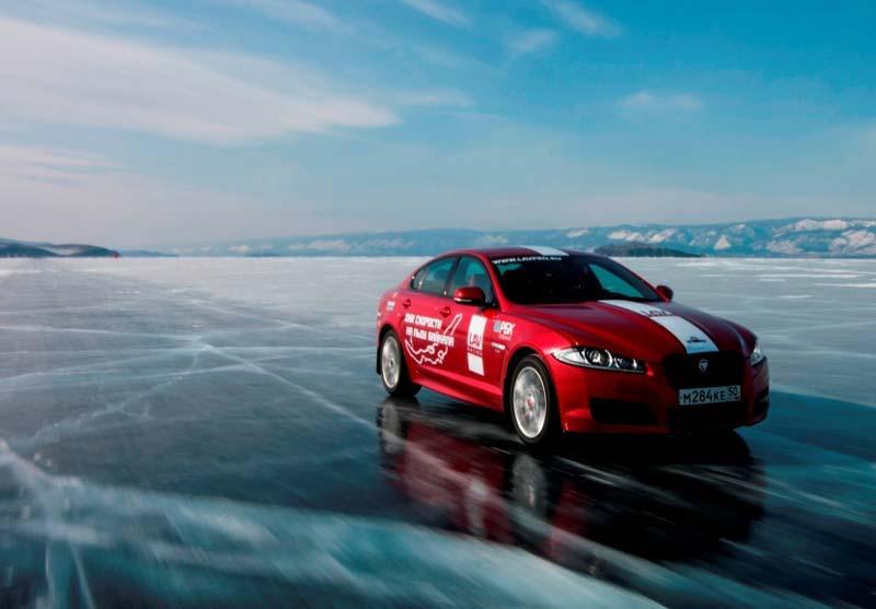 Рекорд скорости на льду, Байкал, 2014