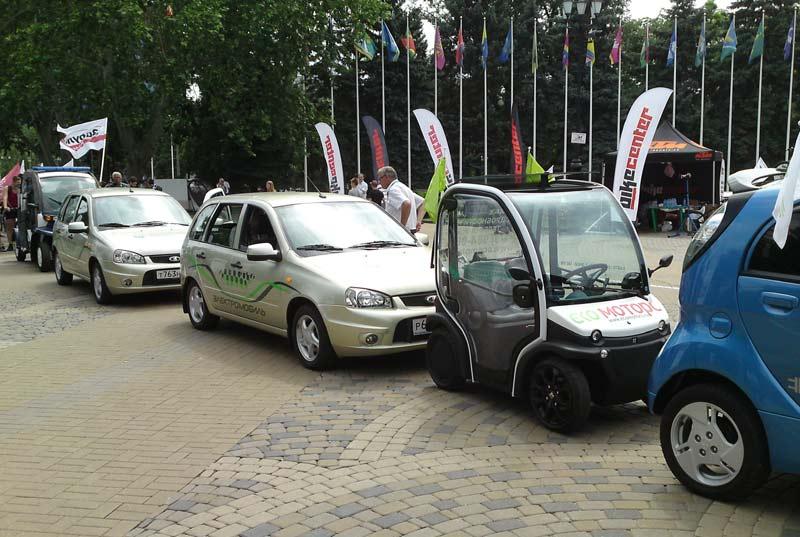 El Lada, эко-пробег электромобилей