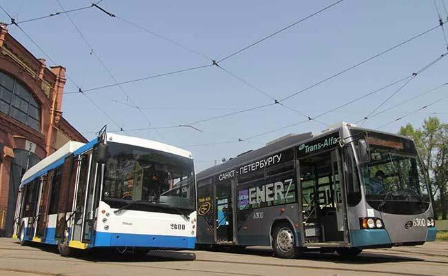 Троллейбусы с автономным ходом до 50 км