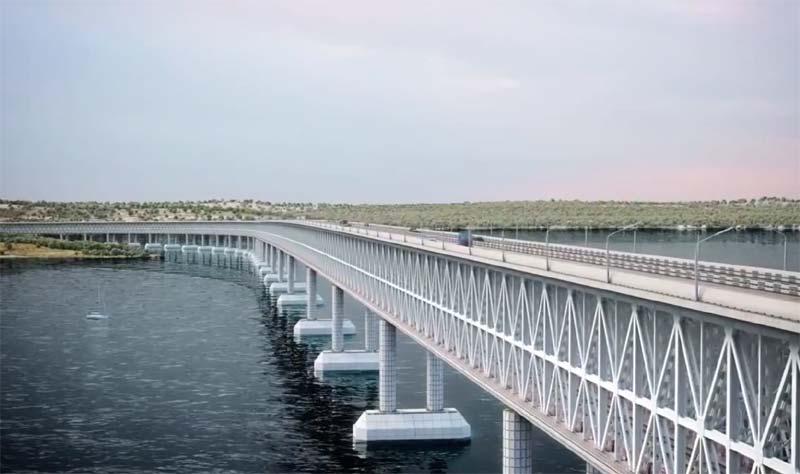 Моста через керченский пролив