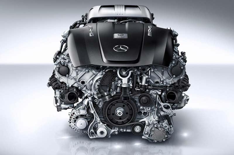 Двигатель Mercedes 4.0 V8 TwinTurbo 510 л.с.