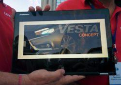 2016 Lada Vesta (предварительное изображение). Казань, 5 июля 2014 года