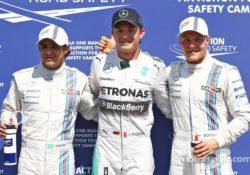 Формула-1. Гран-при Германии. Квалификация. А мы все в белом