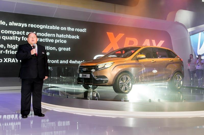 Lada XRay 2 Concept, ММАС-2014