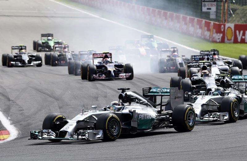 Формула-1. Гран-при Бельгии, 2014