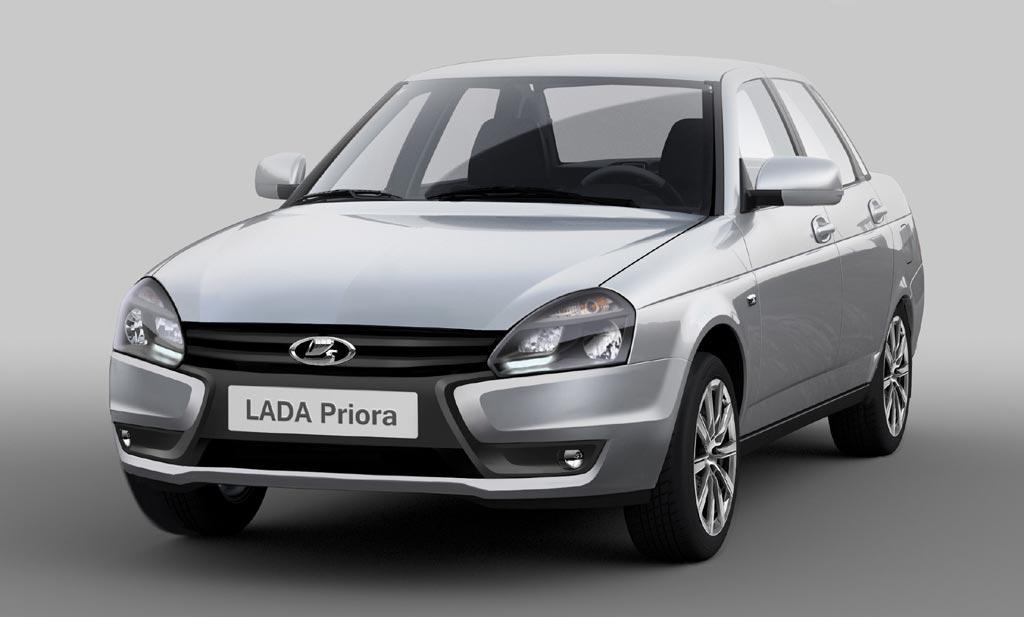 Lada Priora (фейслифт 2015)