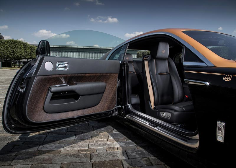 Rolls-Royce Wraith «Сердце Востока»