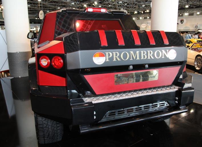 Dartz Prombron Monaco Red Diamond Edition