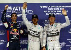 «Формула-1». Гран-при Сингапура 2014. Квалификация