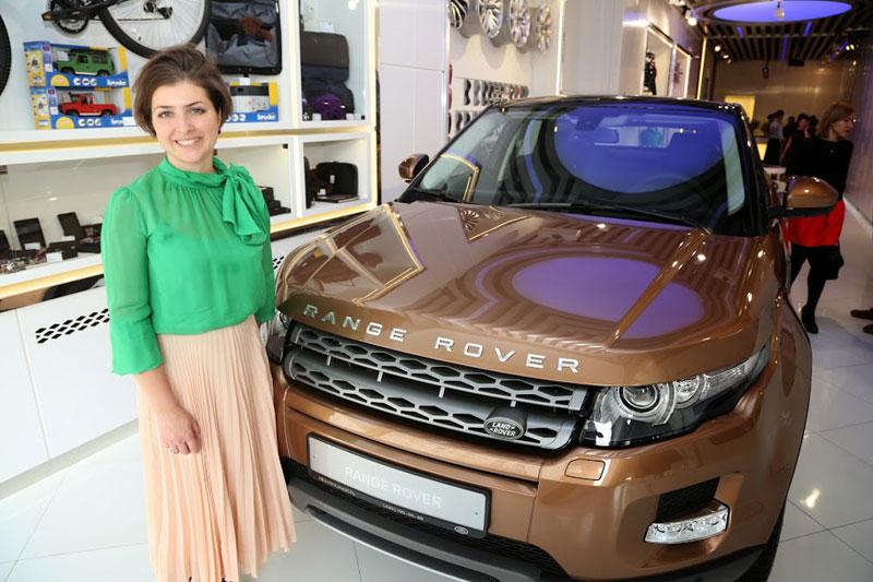 Range Rover Evoque. Покупка онлайн